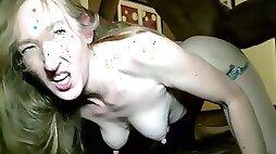 Horny ugly slut hardcore porn video