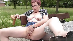 Mature getting off orgasm compilation part 1