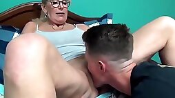 Cougar Wife Hires Teen Boy Whore