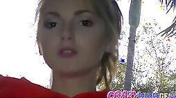 Natalie zeal - cutie in the bus