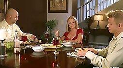 Blonde wife dreams about her husbands best friend - Nikki Delano
