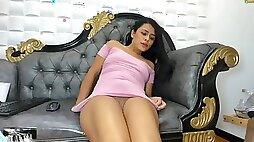 Dakota Miles DakotaMiles Pink Dress Squirts (Heels, Nylons, Legs, Feet, Oil, Ass, Pussy, Wet, Drip, Slo Mo)