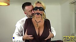 Whipped Bound Submissive Milf With Huge Tits - Pascal White
