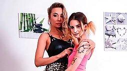 Venera-Maxima and Adelle Unicorn, Family Share Everything