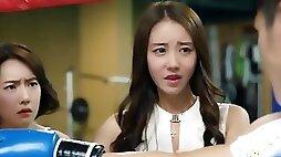 Asian vixen catchy Korean adult scene