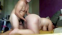 Hungarian fat pig pregnant hairy amateur slut