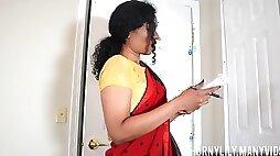 Cumming inside tutor (mom's friend) hindi