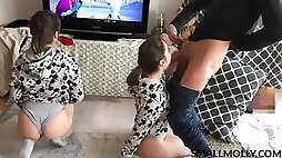 Man's dream triple twins share uncle dick and ass rimming