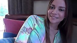 FamilyTherapy - Havana Bleu - Mother & Son Girlfriend Training - 1080p