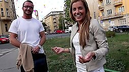 Twins fuck and pee on a married guy