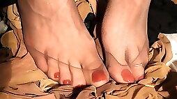 Feet and Nylon Fetish