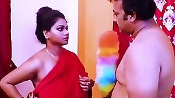 Desi Mallu Aunty With Big Tits And Pussy Gets Fucked By Uncle