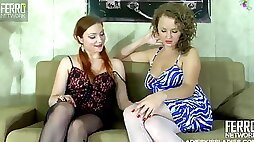 Heart-Stopping Russian Women Go Lesbian Sex Games With Pussy Licking