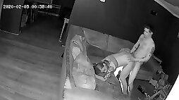 Hidden Camera Teen Fucks PAWG MILF