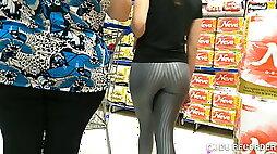Gostosa de suplex legging no mercado