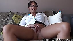 Amber Rodgers - Go Back On the Sofa and Spread Your Legs - PascalSsubsluts