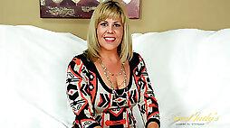 Kayla Larson in Interview Movie - AuntJudys