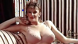 Lingerie daydream vintage 80 s big tits in stockings 240p