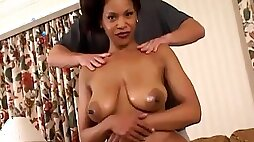 Beautiful milf chick Semmie De Suora gets fucked on the couch