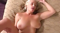 Lustful GILF Comes To Porn Casting For A First Time