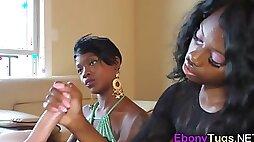Ebony girlfriends blowjob mix