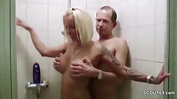 German Big Tit Mother I´d Like To Fuck Shower Sex