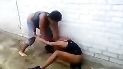 Crazy black mommies in a fight with lots of nudity