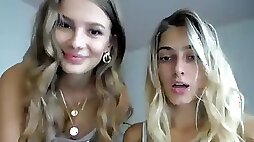 Stunning Little Lesbian Couple...