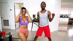 Rose Monroe weekly yoga lesson turns into fuck fest