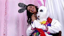 Emily Willis special naughty Easter scene