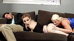 Alluring lesbian action with Daisy Lynne and Paris Knight