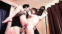 Krissy Lynn ass whipped and fucked by her friends brother