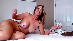 Fuckable mother jess with pubic hair does posh anal