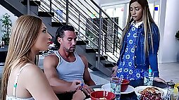 Innocent Alita Has a Threesome With Stepparents
