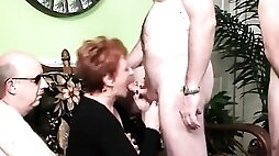 When her Daughter had a Party, Granny Stole the Show